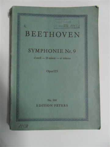 BEETHOVEN-SYMPHONY 9-OPUS 125