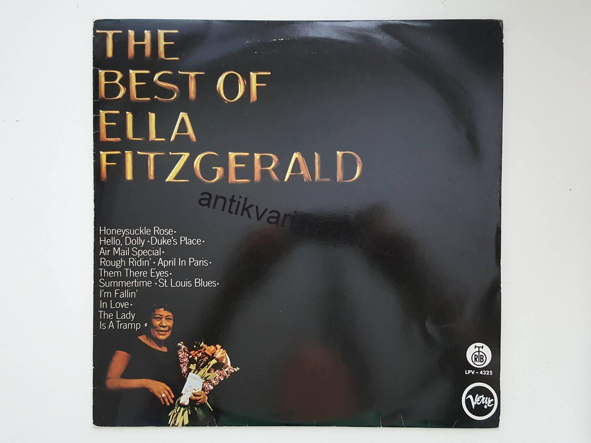 LP THE BEST OF ELLA FITZGERALD
