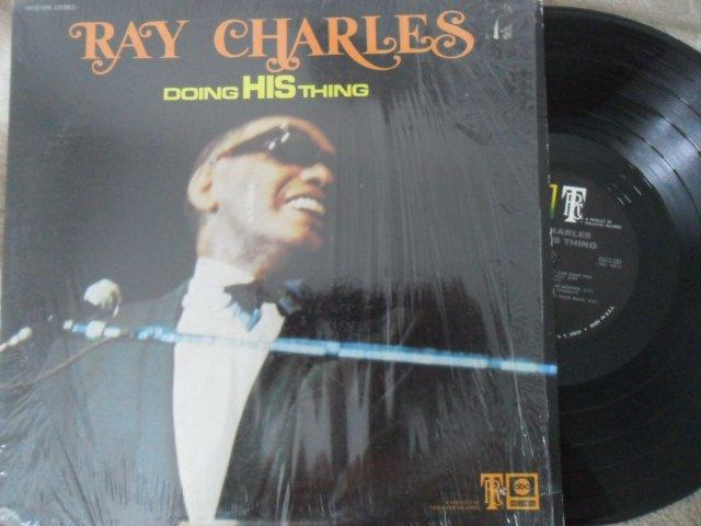RAY CHARLES- DOING HIS THING