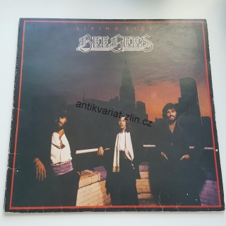 LP BEE GEES - LIVING EYES