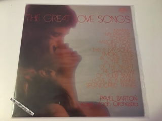 LP PAVEL BARTOŇ - THE GREAT LOVE SONGS