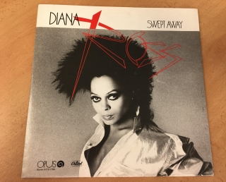 LP Diana Ross - Swept away